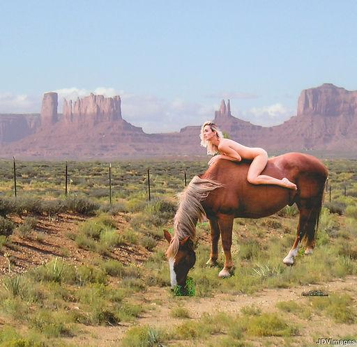 Domi in the Desert