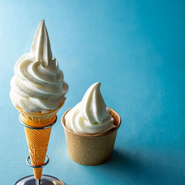 北海道・岩瀬牧場のソフトクリーム