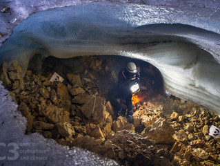 Multi year evolution of ice in caves through a photogrammetric approach