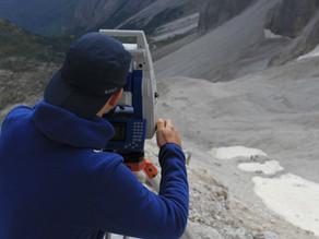 Iniziate le Misure di Bilancio di Massa al Ghiacciaio Alto di Popera in Dolomiti di Sesto