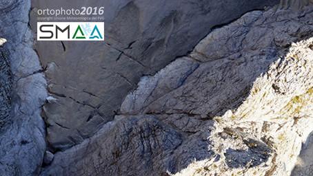 Il ghiacciaio occidentale di Montasio in 3D.