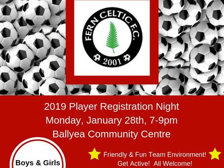 Registration Night 2019