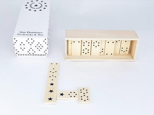 Wooden Star Domino Set