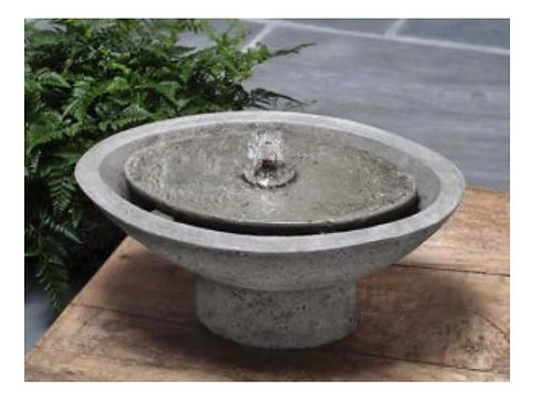 Cast Stone Zen Oval Fountain