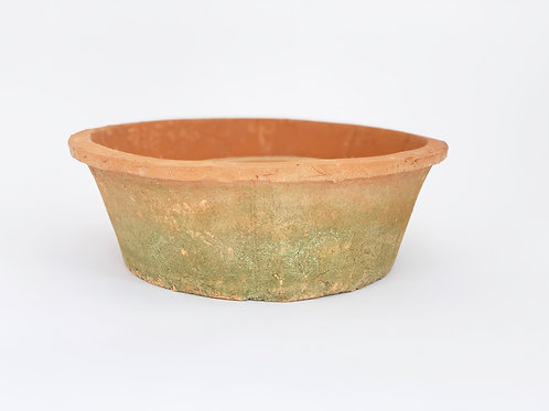 Rustic Terra Cotta Tapered Bowl