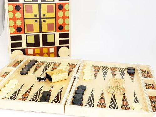 Mesa Verde Tabletop Backgammon Set