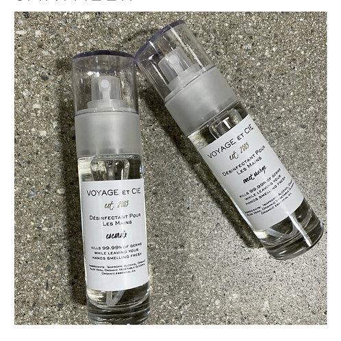 Voyage et Cie Scented Hand Sanitizer Spray: 5 Scents