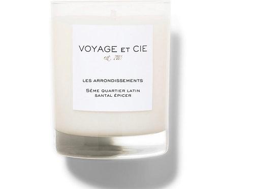 Voyage et Cie Candle -Santal Epicer -Highball