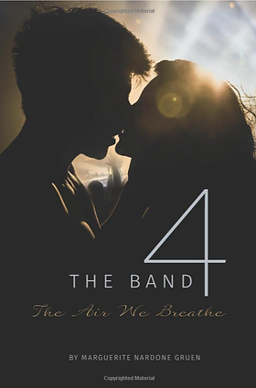 cover design  The Band 4 The Air We Brea