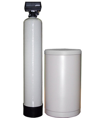 Water Softener, Model F-22-2, .75 cubic feet