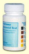 Peracetic Acid Potency Test -100 test strips