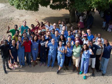 Maya and UB Med in Haiti 2018