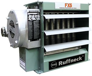FX5 - Explosion-Proof Electric Air Unit Heater - Ruffneck by Thermon