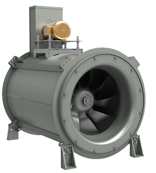 Mixed Flow Inline Fan (MXI)Inline Tubular Mixed Flow
