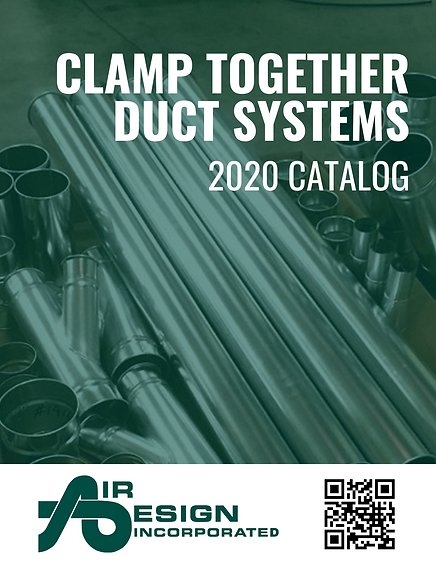 Air Design Clamp Together Duct Systems 2020 Catalog