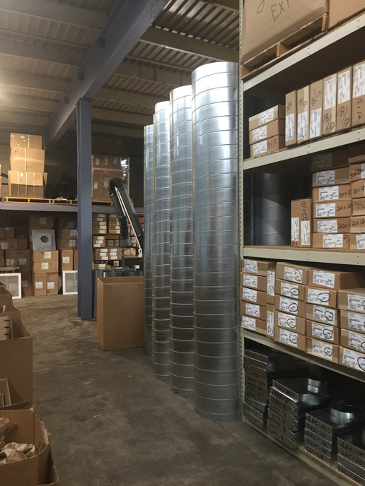 Air Design Inc. HVAC Warehouse Michigan