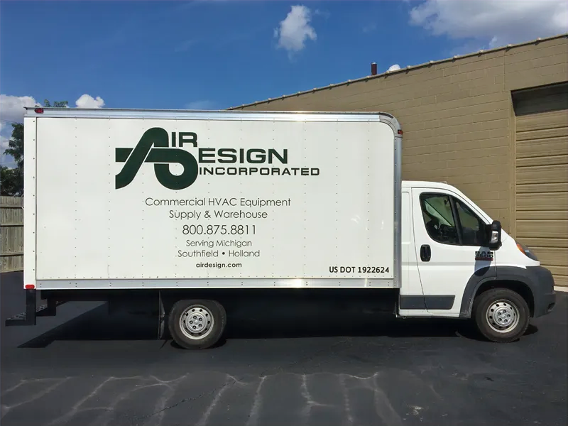With pick-up orders, delivery, and shipping, Air Design will get you your products FAST