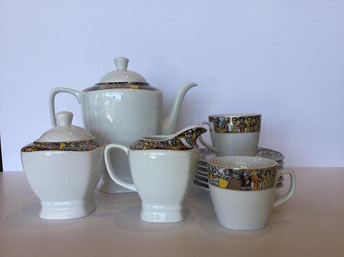 Queen of Sheba Tea Set