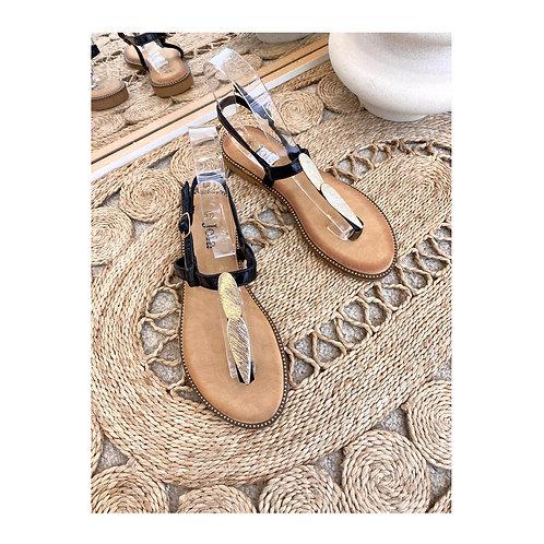 Sandales entre doigt