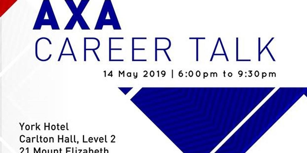 AXA CAREER TALK