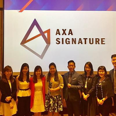 Inaugural AXA Signature Event