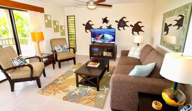 Wailea Ekolu #7 living room