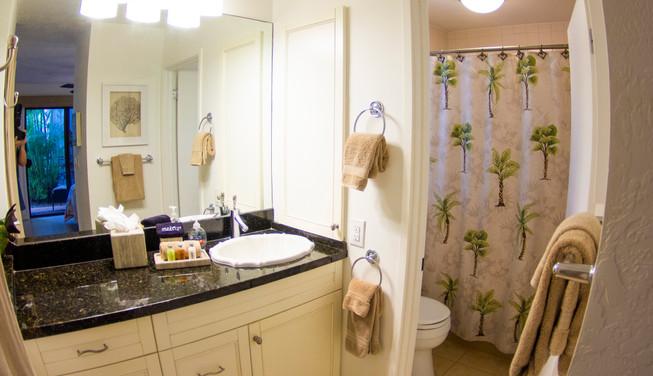 Wailea Ekolu #3 Master Bathroom with Tub