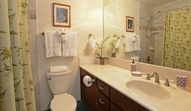 Wailea Ekolu #7 Guest Bath