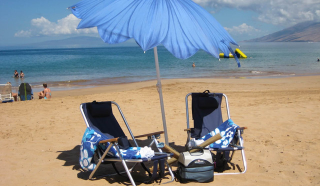 Wailea Ekolu #7 Beach accessories provided