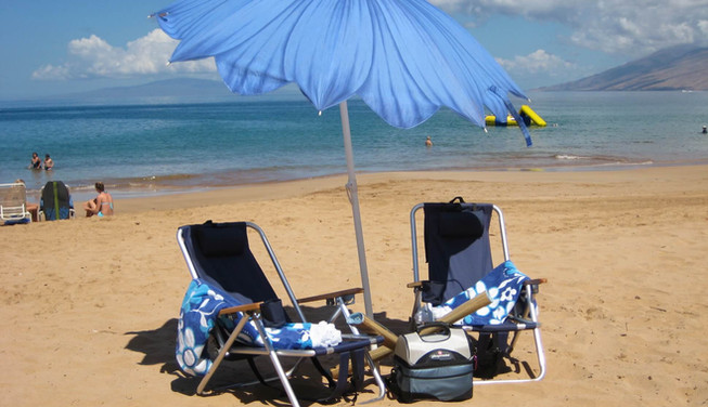 Wailea Ekolu #3 Beach Accessories Provided