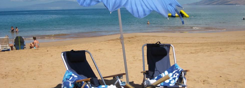 Kamaole Sands #7 Beach accessories provided