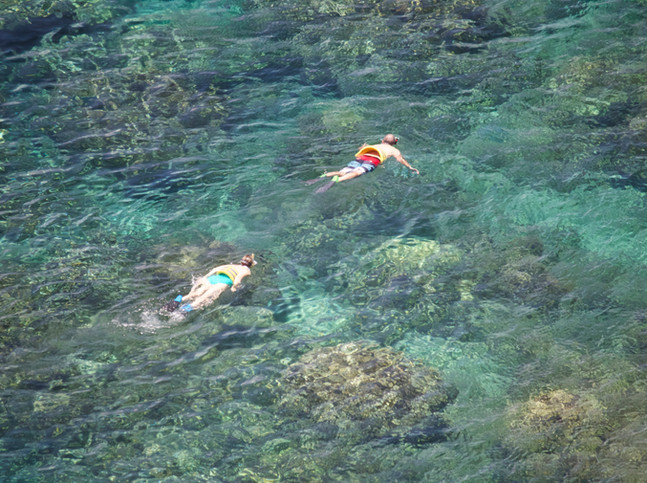 World Class snorkeling on Maui