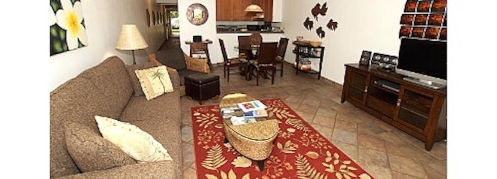 Kamaole Sands #7 Living area