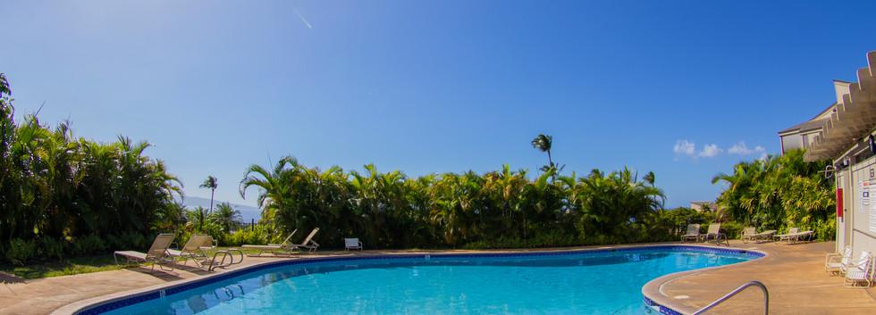 One of two Wailea Ekolu pools