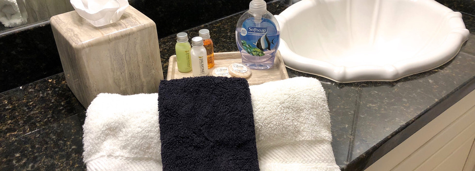 Bath room amenities