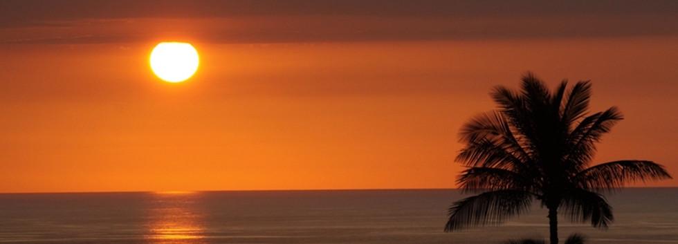 Sunset from lanai