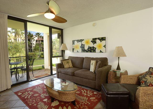 Kamaole Sands #7 Living Room