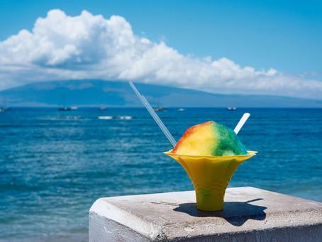 Shave Ice ... a local Hawaiian treat 😋