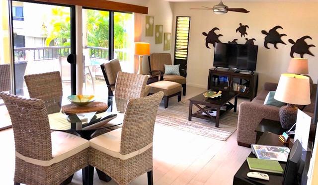 Wailea Ekolu #7 Living room-Dining