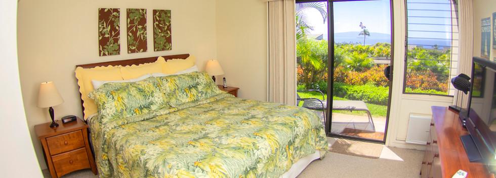 Wailea Ekolu #7 Bedroom with Cal King bed