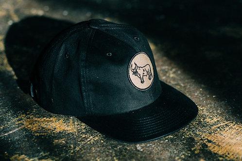 Desert Bull 6 Panel Hat