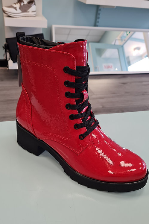 MARCO TOZZI 25262-27-574 RED PATENT BOOT