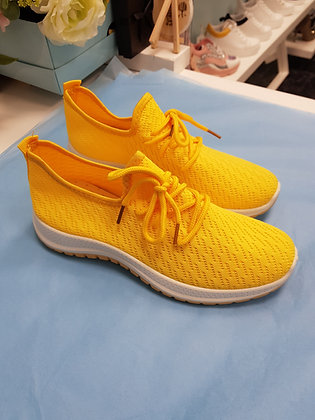 YELLOW CANVAS TRAINER