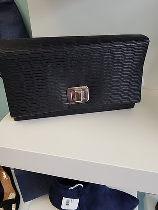 CLUTCH BAG WITH BUCKLE CLASP