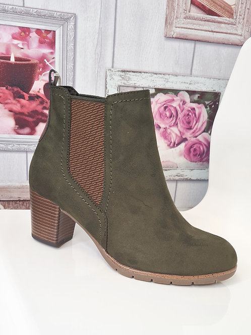 MARCO TOZZI  25355-27 712 OLIVE BOOT
