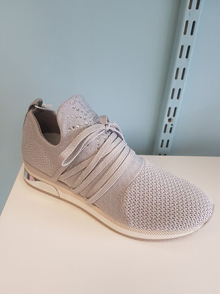 MARCO TOZZI LT GY  TRAINER