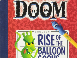 Cougar Book Review: The Notebook of Doom: Rise of the Balloon Goons
