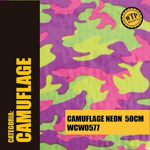 CAMUFLAGE NEON 50 CM