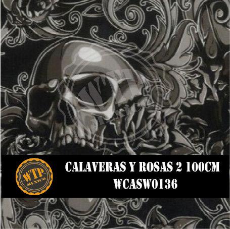 CALAVERAS Y ROSAS 2 100 CM