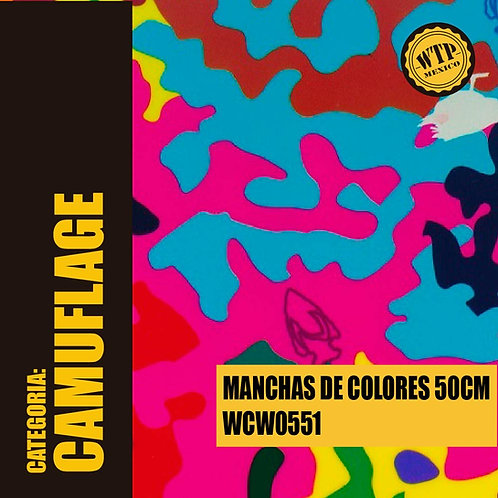 MANCHAS DE COLORES